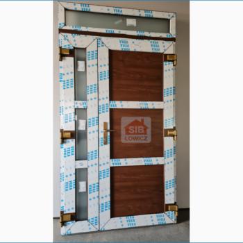 Drzwi wejściowe 2-skrzydłowe SIB Łowicz