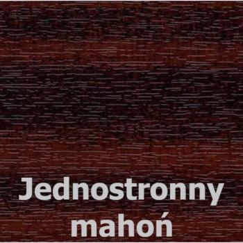 kolor jednostronny mahoń inwentarskie