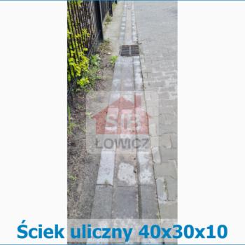 Ściek uliczny SIB Łowicz
